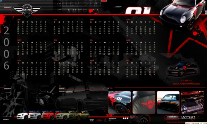 The desktopADvantage – Calendar Sample Design