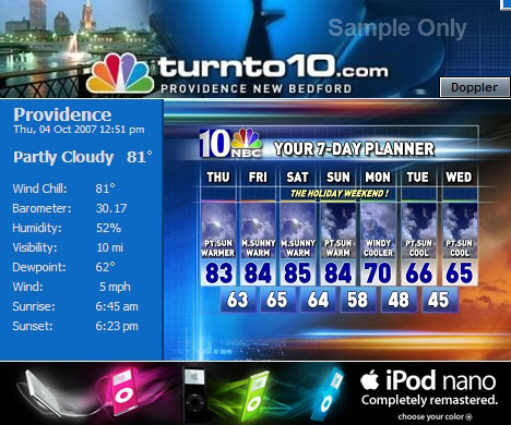 Local Weather Headliner Local Weather